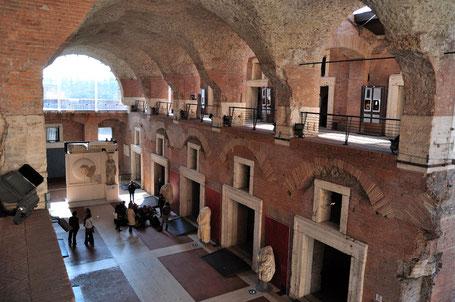 Bovedas del mercado de Trajano, Roma, año 110