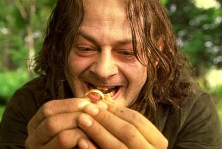 Smeagol antes de convertirse en Gollum gracias al anillo