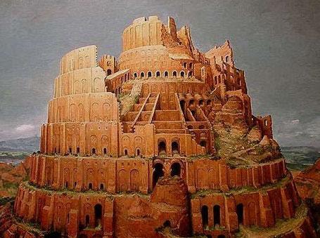 La Torre de Babel, símbolo de la incomunicación entre constructores