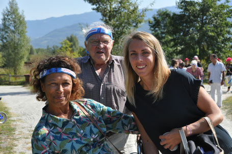 Les élus au coeur de la Déambul'Action : Sylvie Bourdarias (Ville de Crolles) ...