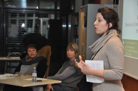 Amandine Porcher-Sala anime le débat