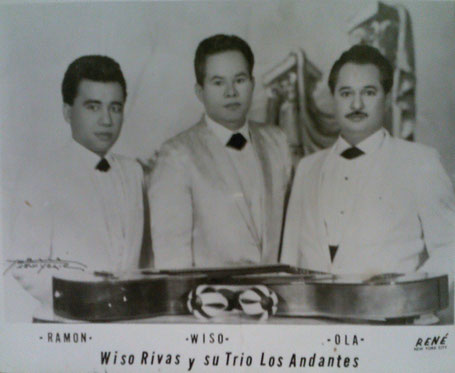 Ramón González, Wiso Rivas y Olá Martínez.