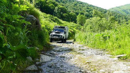 The Michaels, Svaneti Loop selber fahren, Ushguli udn Mestia, Offroadtracks für Georgien