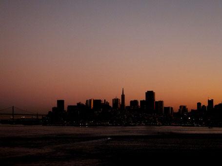 Letzter Blick auf San Francisco... Das Ende einer Weltreise von knapp 8 Monaten, quer durch Neuseeland, Australien, französisch Polynesien und Kalifornien, next stop: Frankfurt Airport