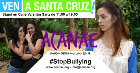 ACANAE en Ven a Santa Cruz 2017