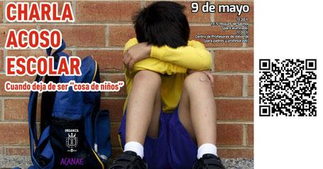 Charla sobre acoso escolar bullying en El Hierro - ACANAE