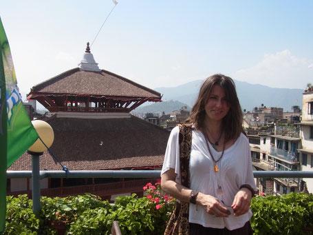 Simone in Kathmandu