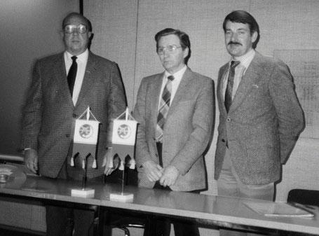 Puheenjohtajan vaihdos 1983