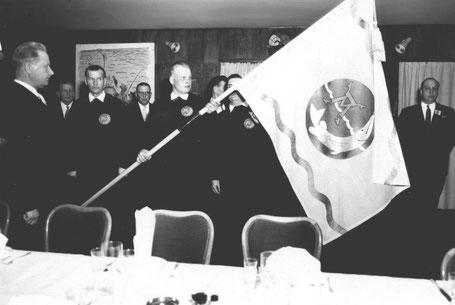 Seuran lipun vihkiäiset 1961