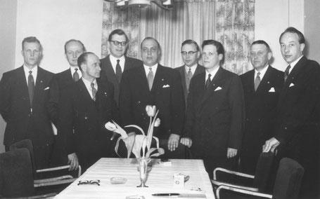 Johtokunta 1956