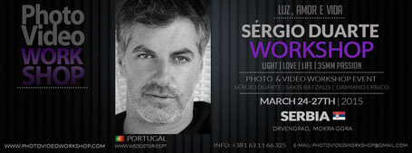 Sergio Duarte Servia Workshop 2015