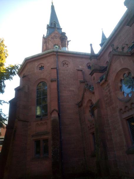 Heutige evangelische  Pauluskirche in Badenweiler (Foto Archiv Halbedl)