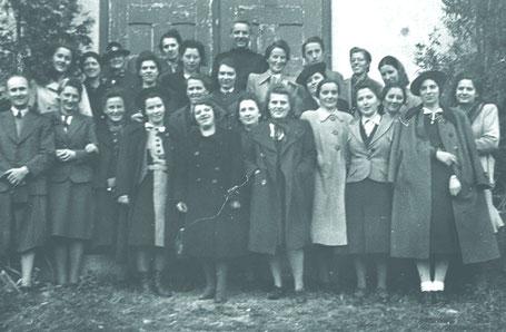 Trotz NS-Diktatur hielten die Mädchen Baumgartens ihren Ausflug ab.