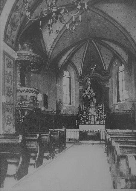 Die alte St.-Anna-Kirche von Innen