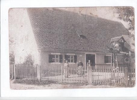 Bauernhaus um 1918
