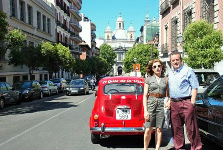 Tours guiados por Madrid en 600