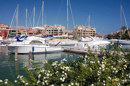 Yachthafen von Sotogrande.