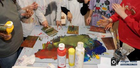 Malereien in Hainholz