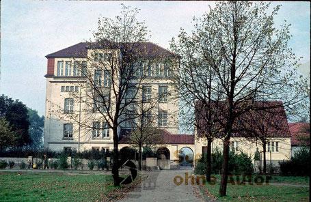 Bürgerschule ohne Datum | Scan ohne Autor