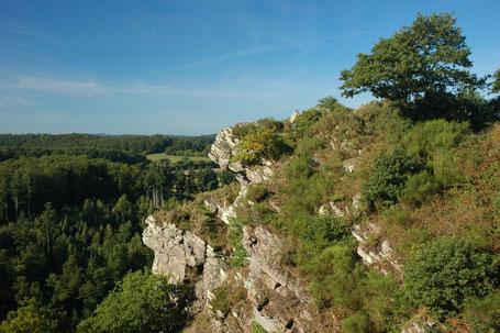 Foto: Die Roche d'Oëtre (Aussichtspunkt), Quelle: Wikimedia Commons, Calips