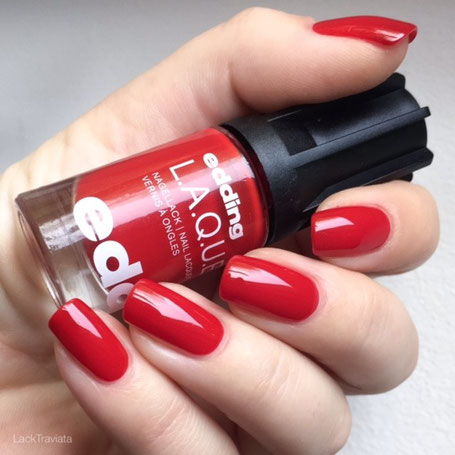 swatch edding L.A.Q.U.E. real red 163