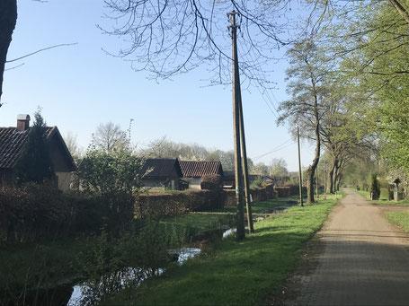 Die Wolfskuhlensiedlung in Bremen-Kattenturm (Foto: April 2018)