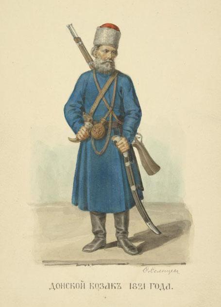 Cosaque uniforme