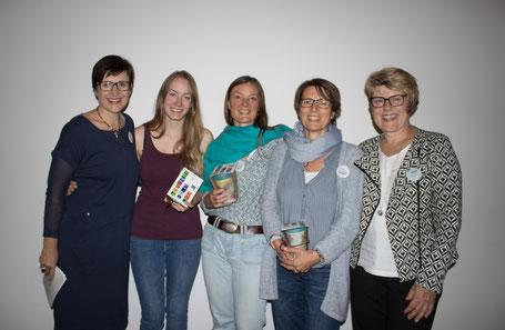 von links: Gaby, Kora, Anja, Annegret und Edith
