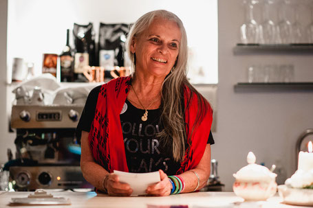 Lavenda Schaff; Wortwechsel in violett; Kitchen2Soul
