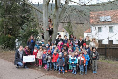 Spendenübergabe in Neustadt
