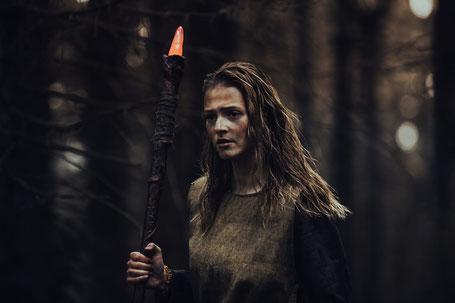 """Hexen in der Spätantike: bei der """"Black Forest Witch"""" wird diese Idee lebendig. (Foto: Janina Dietz)"""