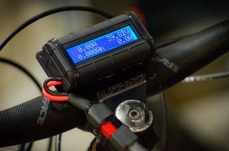 schermo bici elettrica