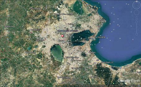 Maps Tunis