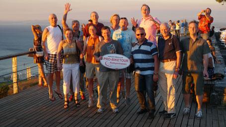Reisebericht Kapstadt 2013 - Teilnehmer der Radsportreise durch Südafrika