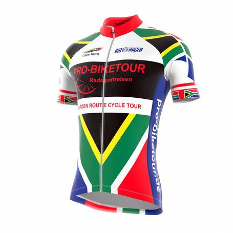 Rennrad Trikot gratis - Radreise Südafrika