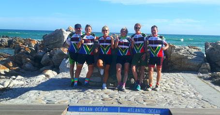 Radreise Kapstadt 2018 - Reisebericht der Radsportreise mit Pro-Biketour - Teilnehmer der Reise mit Rennrad