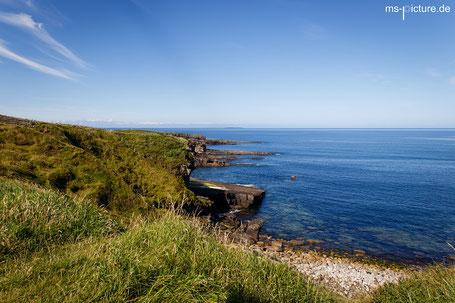 Die Küste bei Mullaghmore Mead