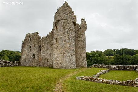 Das Monea Castle in der Nähe von Enniskillen