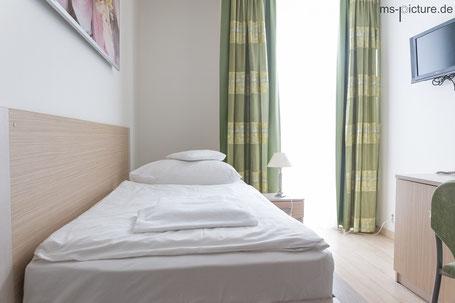 Einzellzimmer im Hotel Ankora in Prag