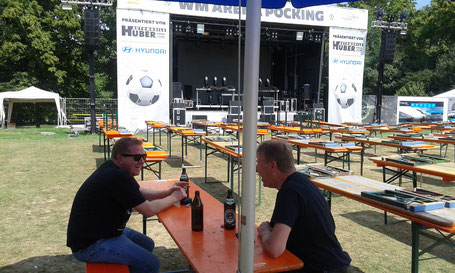 Olles Leiwand beim Seefest in Pocking