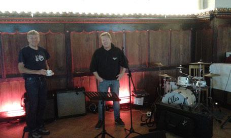 Hochzeitsfeier mit Livemusik von Olles Leiwand im Wappensaal der Festung Hohensalzburg