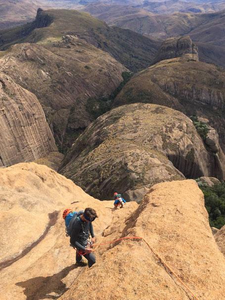 Les derniers mètres avant le sommet