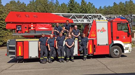 Hauptamtliche Einsatzkräfte Feuerwehr Weißwasser
