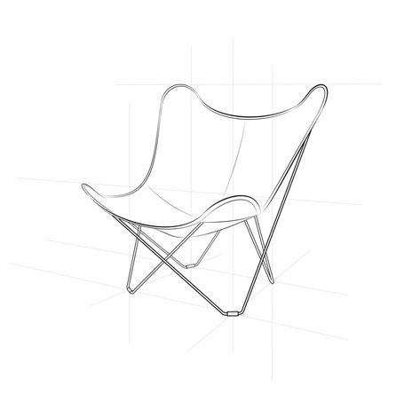 Butterfly Chair, zuletzt herausgegeben von Knoll