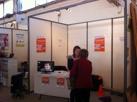 Stand au parc des expositions de Montpellier