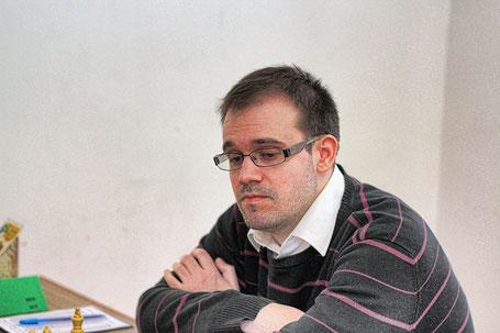 St. Valentins Matchwinner in Runde 1: Großmeister Andras Flumbort aus Budapest