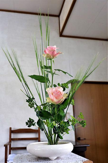 2020年4月19日(日)礼拝堂の献花より