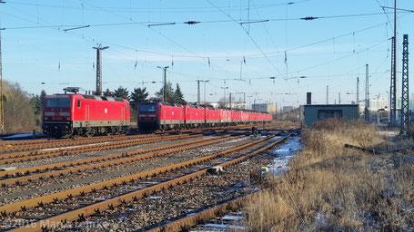 Bahnhof Halle/Nietleben 19.01.2016