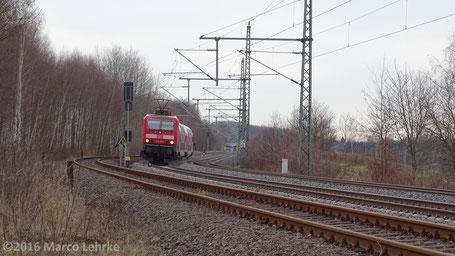 Niederwiesa bei Chemnitz 09.01.2016