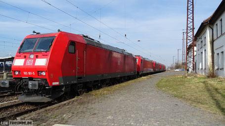 Bahnhof Großkorbetha 27.02.2016
